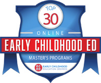 M.Ed. early childhood ranking badge