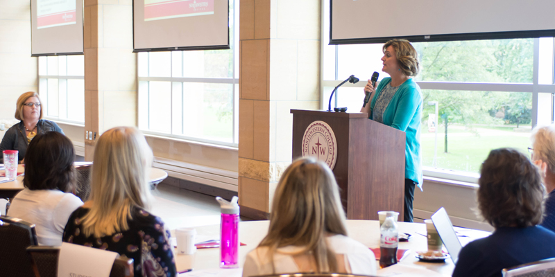 More than 60 area social workers and healthcare professionals attended a Sept. 9 Ethics Conference hosted by Northwestern Graduate School & Adult Learning.