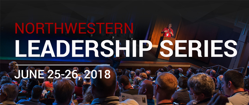 Northwestern Leadership Series banner