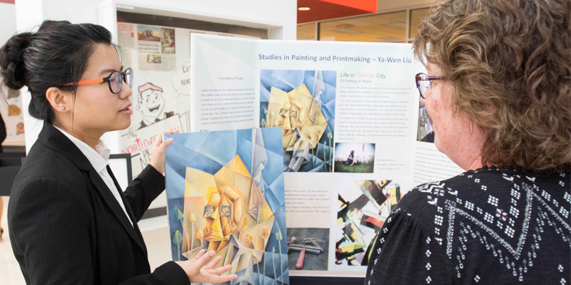 Northwestern students presents at Celebration of Research