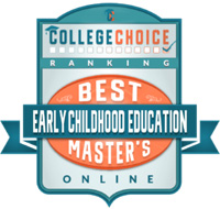 College Choice master's of education in early childhood ranking badge