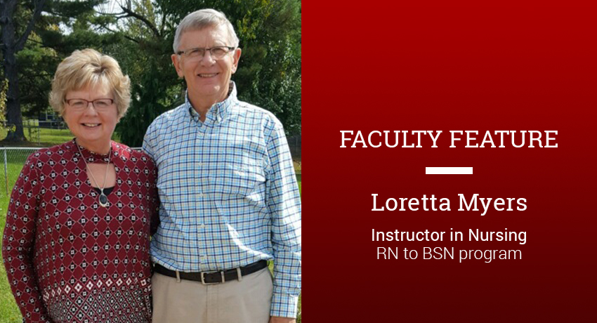 Loretta Meyers RN-BSN faculty feature