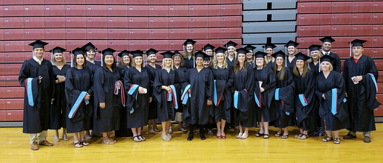 Northwestern College Master of Education graduates