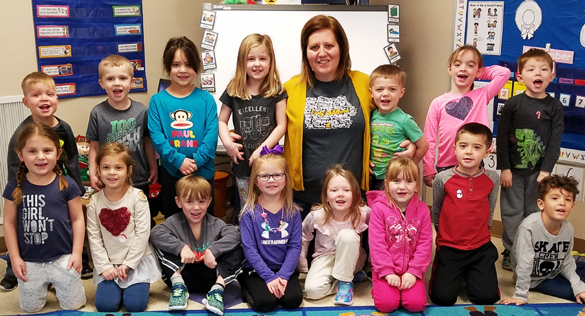 Michelle Koenighain, Head Start teacher