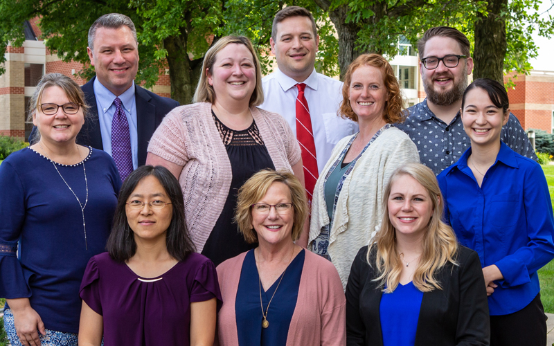 Ten new faculty at Northwestern College