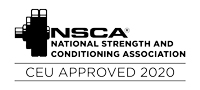 NSCA approved event