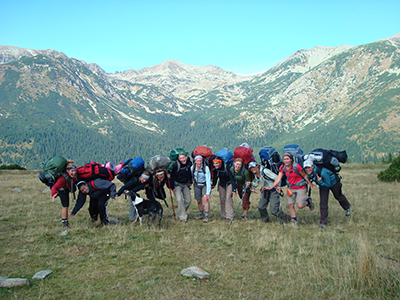 Romanian backpacking trip