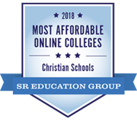 Badge for affordability ranking from SR Education Group