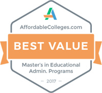 AffordableColleges.com affordability ranking badge