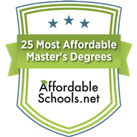 Most affordable master's degree in education