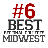 #6 Best Recional Colleges Midwest